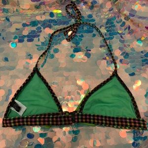 Dolls Kill Swim - Seersucker Bikini Top